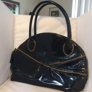 Zina Eva Large Patent Leather Bag/Purse